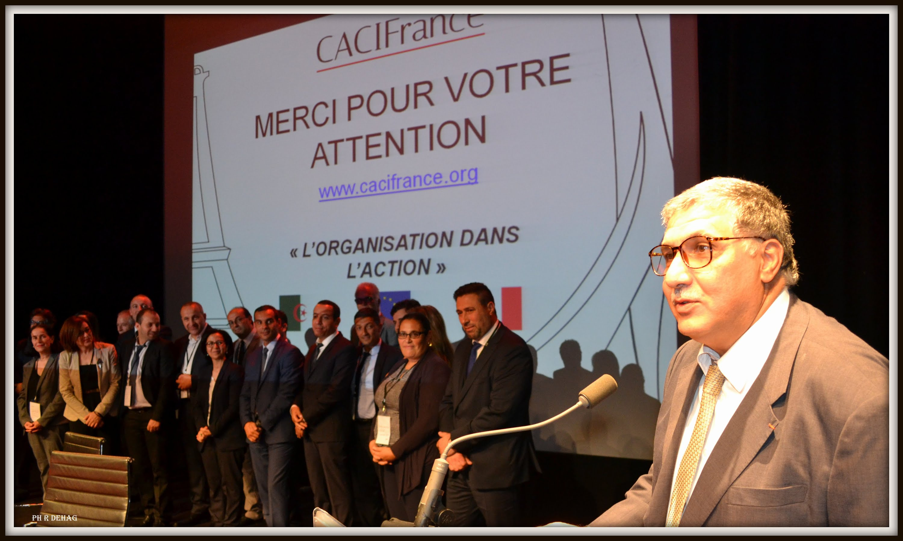 Caci france importante rencontre le 8 janvier paris for Chambre algerienne de commerce et d industrie
