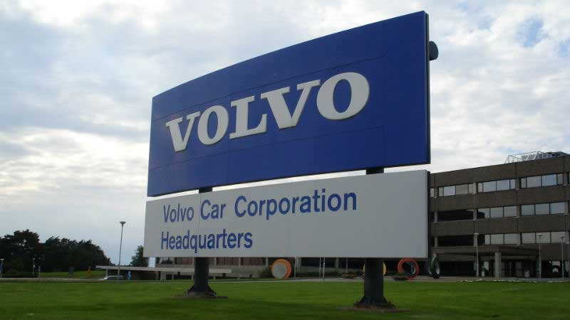 Voitures Volvo avec Android