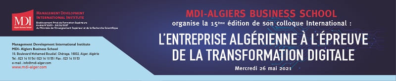 Colloque MDI