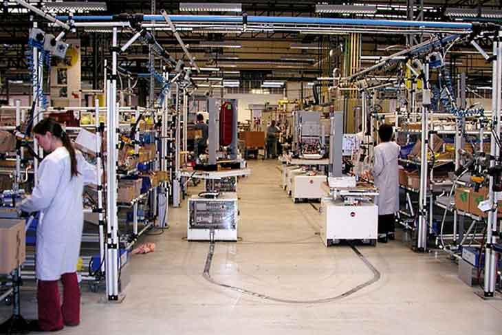 production industrielle du secteur public