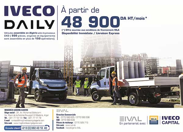 Iveco Daily Châssis-cabine