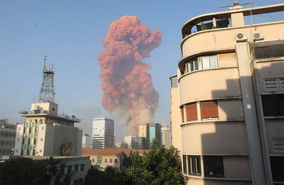 Explosions au Liban : Beyrouth